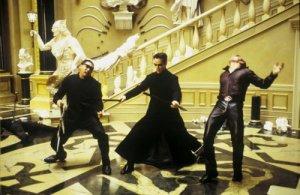 Matrix High Kickin