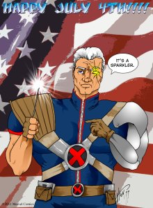 Cable Loves a BBQ!