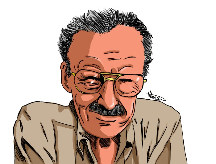 Just a Drawing of Stan Lee…