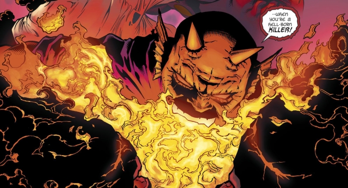 the Cursed Earth: Demon, Hell is Earth (2017-2018 DC Comics)