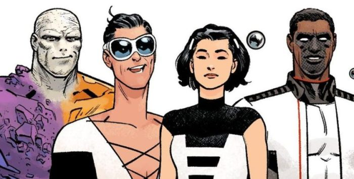 Stuck Together: The Terrifics (DC Comics, 2018)