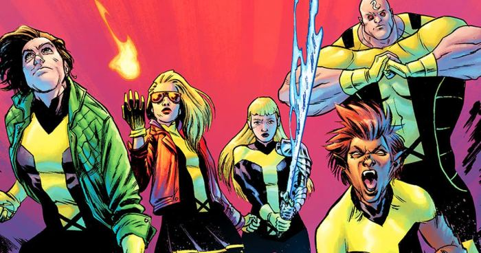 Sibling Rivalry: New Mutants: Dead Souls (Marvel, 2018)